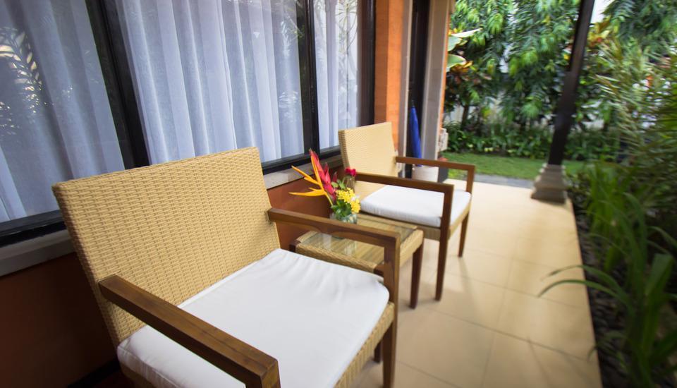 Natya Hotel Tanah Lot - Balcony