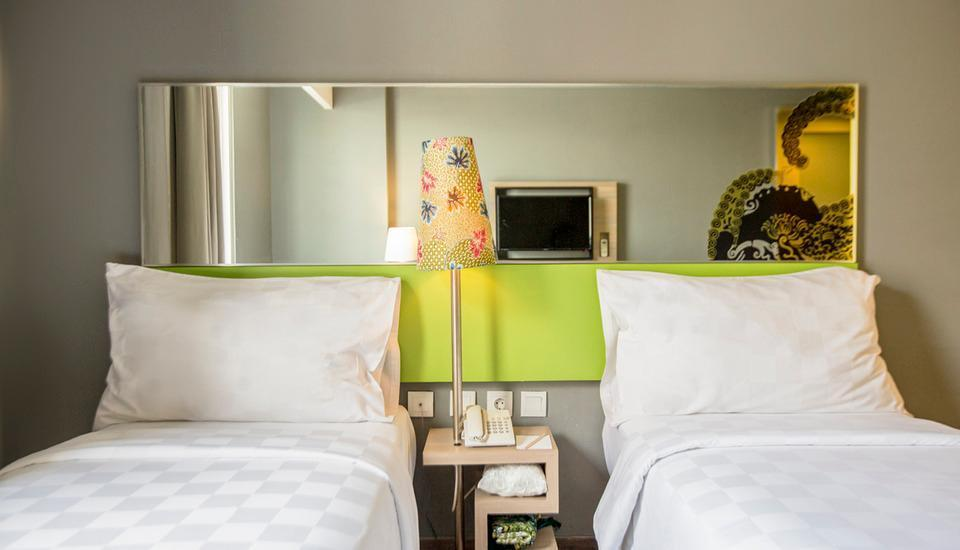 Pesonna Hotel Semarang - Deluxe Twin Bed
