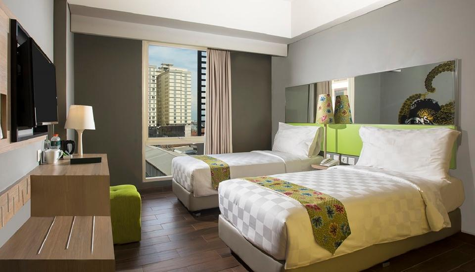 Pesonna Hotel Semarang - Deluxe Twin