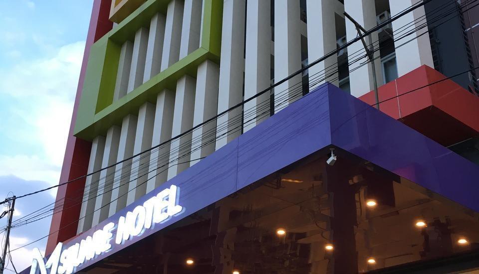 M Square Hotel Palembang - Pintu masuk utama