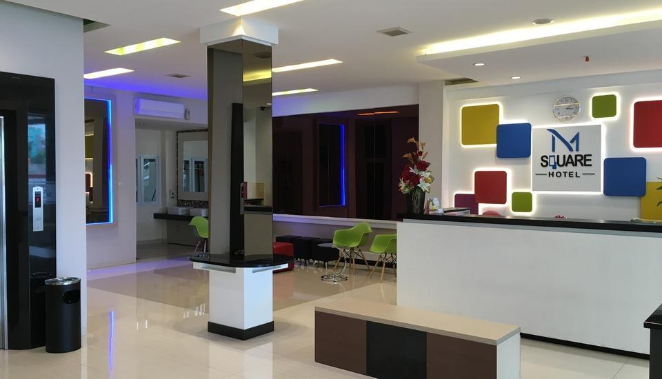 M Square Hotel Palembang - Lobi