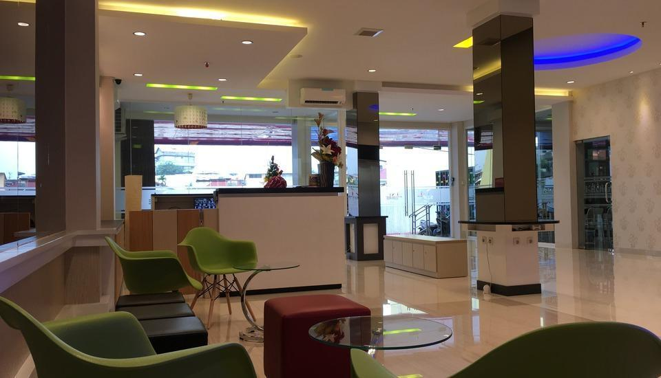M Square Hotel Palembang - Lobby