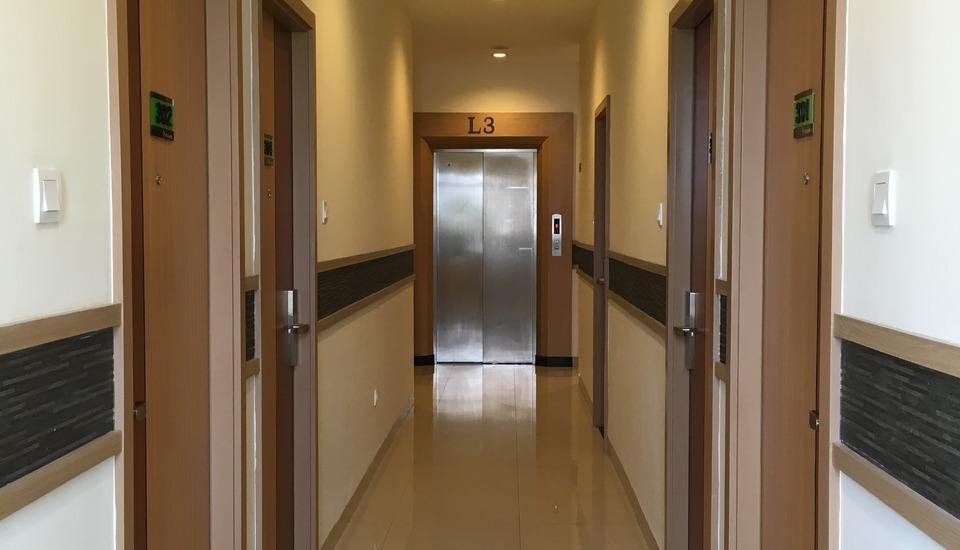 M Square Hotel Palembang - Koridor