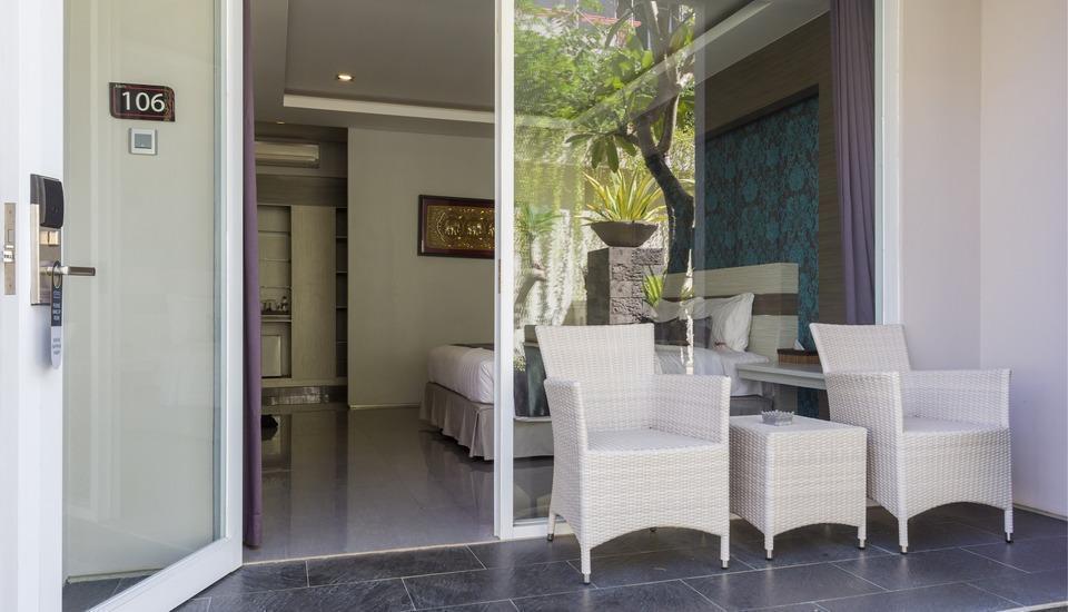 RedDoorz @Troppozone Legian Bali - Kamar tamu