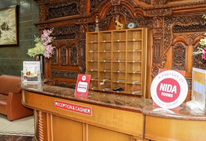 NIDA Rooms Lodaya 83 Lenkong - Resepsionis