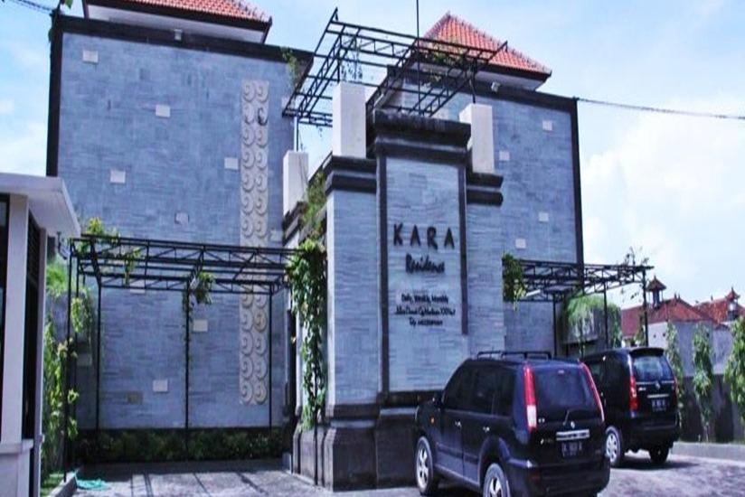 Kara Residence Bali - Tampilan Luar Hotel
