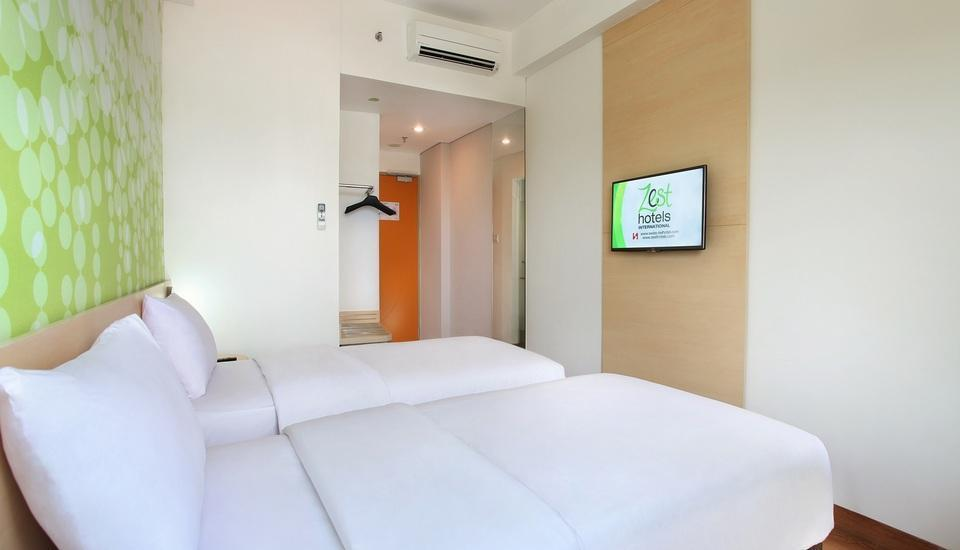 Zest Hotel Airport Tangerang - Zest Twin Room Only PROMO Regular Plan