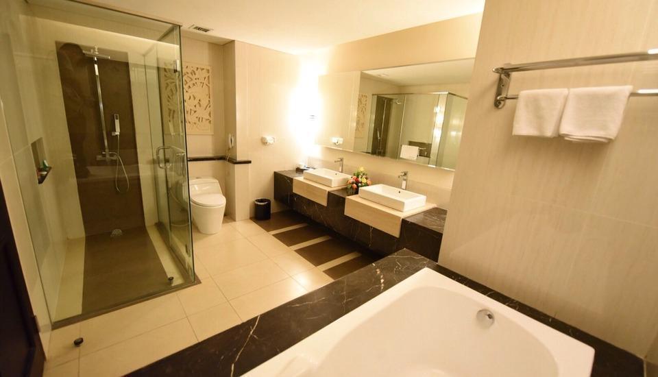 Kedaton Hotel Bandung - Kamar mandi