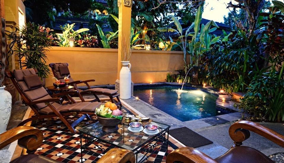 Diwangkara Holiday Villa Beach Resort Bali - Kolam Renang Villa Deluxe