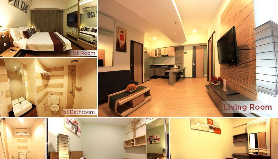 Simply Valore Hotel Cimahi - Valore Suite (Three Bedroom) Regular Plan