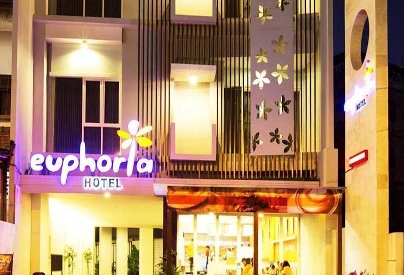 Euphoria Hotel  Bali  - Tampilan Luar Hotel
