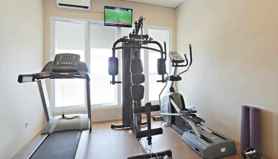Euphoria Hotel  Bali  - Gym