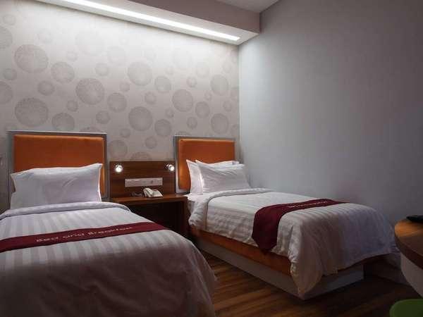 Hotel Bed andBreakfast Surabaya - Kamar Deluxe Twin Reguler Plan