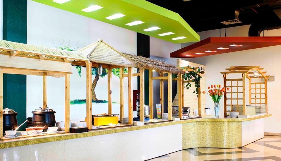 Amos Cozy Hotel Melawai - Restaurant