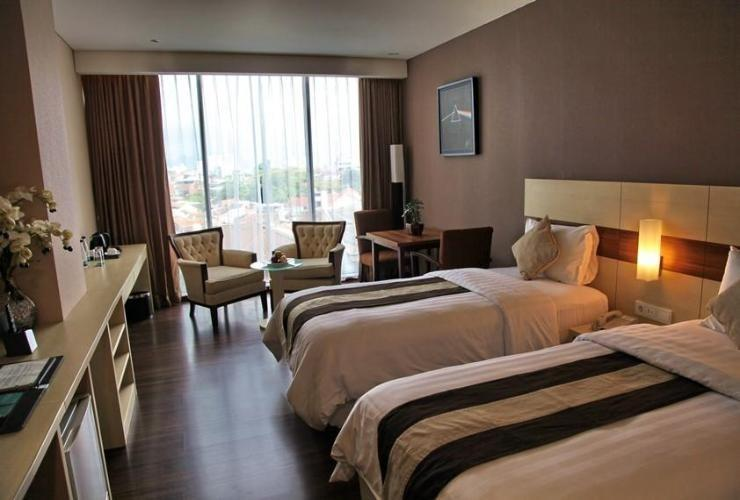 Hotel California Bandung - Executive Twin Room CALIFORNIATION PROMO, GET SPECIAL DISCOUNT 15%
