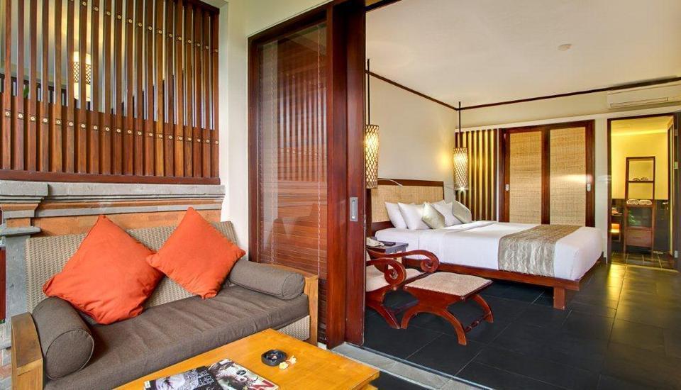 Kuta Seaview Hotel Bali - Lanai Deluxe Garden - Teras