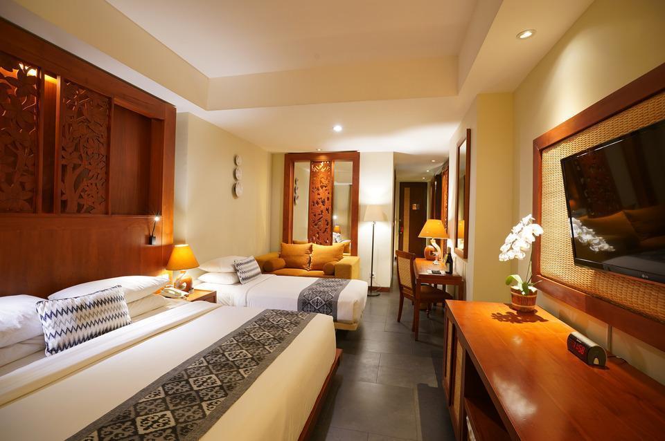 Kuta Seaview Hotel Bali - Family Room Hot Deal