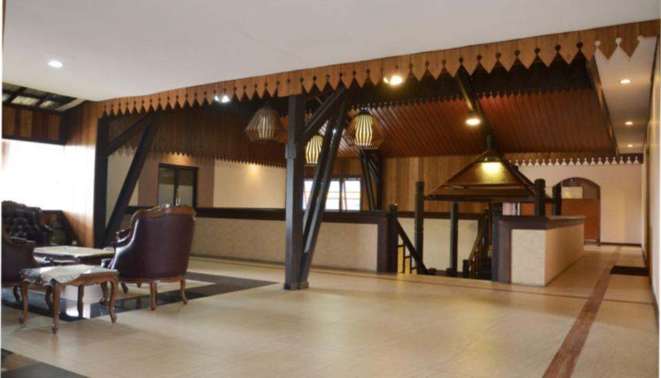 Arsela Hotel Pangkalan Bun Kotawaringin Barat - lobi lantai 2