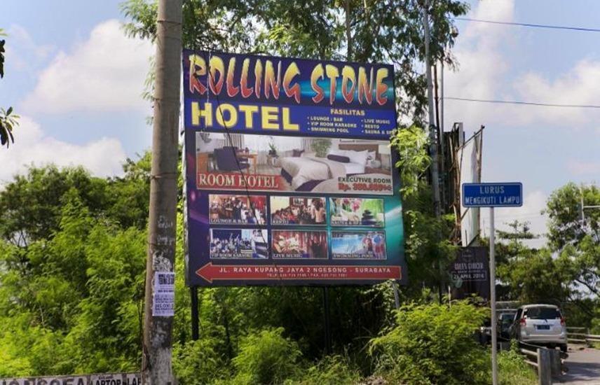 Rolling Stone Hotel Surabaya - Eksterior