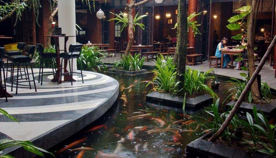 Swiss-Belhotel RainForest Bali - Fish Pond