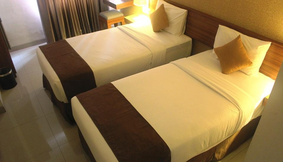 h Boutique Hotel Yogyakarta - Pegipegi Economic Twin Bed Room  Regular Plan