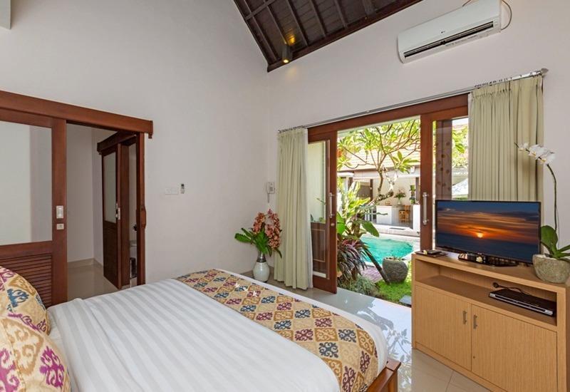 Kubal Villa Bali - Kamar tamu