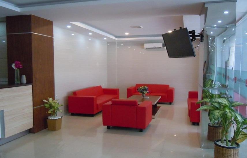 Grand Pacifik Hotel Makassar - lobi