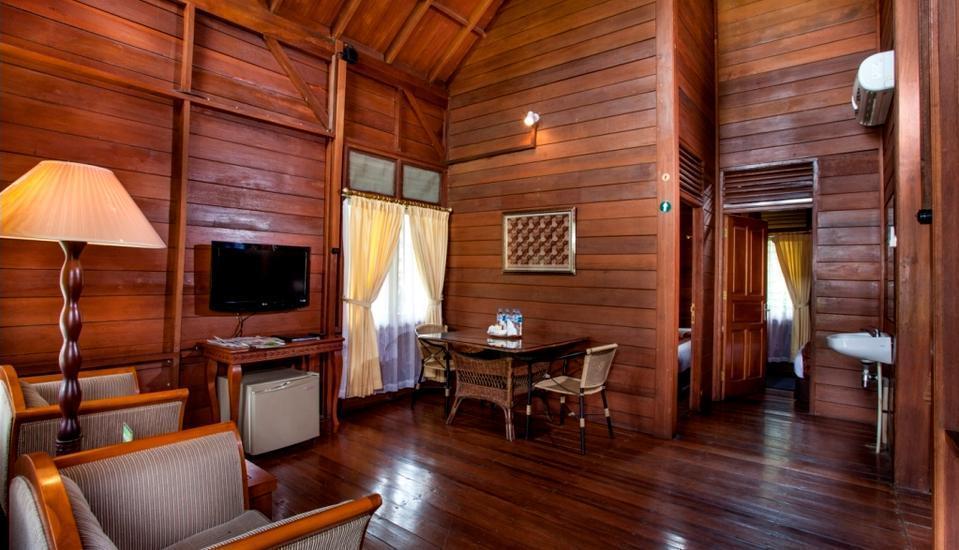 Citra Cikopo Hotel Bogor - ruang tamu