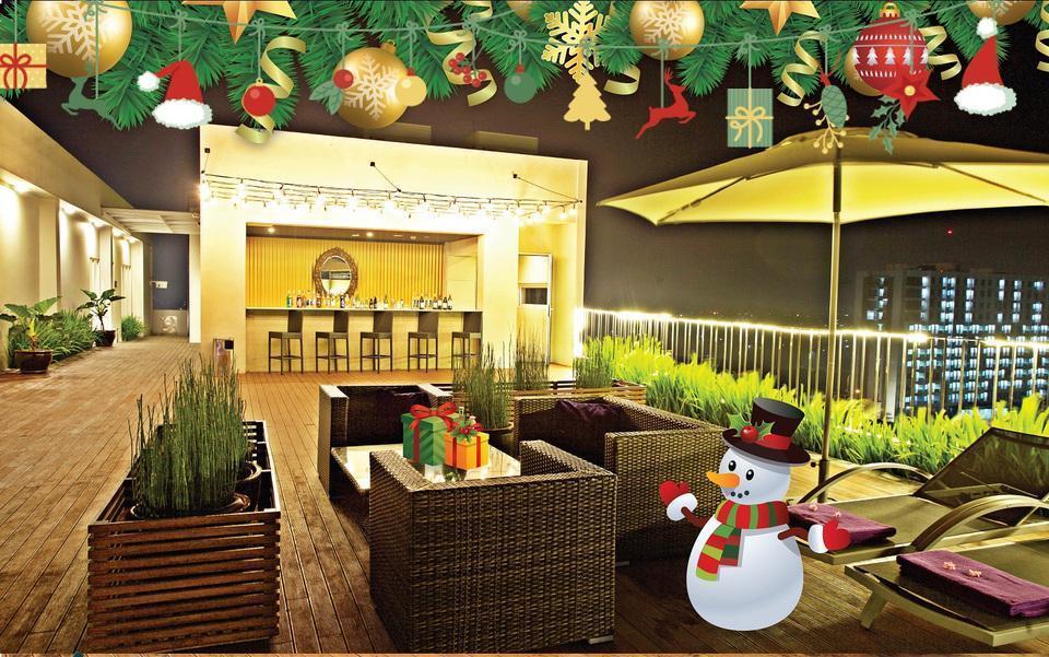 The Celecton Hotel Jababeka Bekasi - Pool Bar