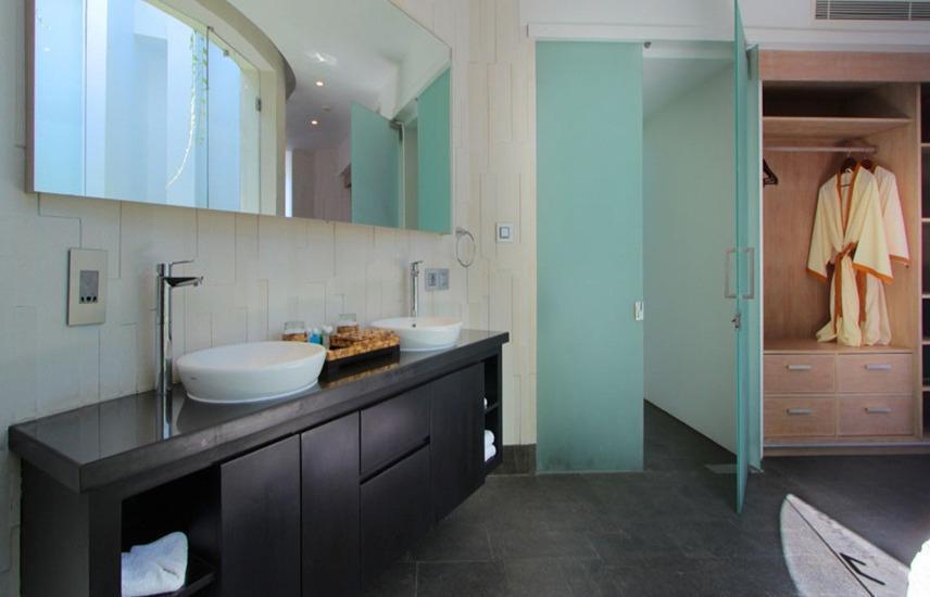 Taman Mesari Luxury Villas Seminyak - washtafle dua kamar tidur