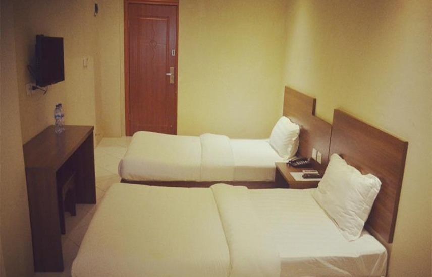 Hotel Mustika Tanah Abang Jakarta - Standard Twin Room No Windows Regular Plan