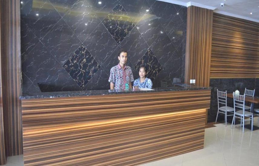 Hotel Mustika Tanah Abang Jakarta - Resepsionis