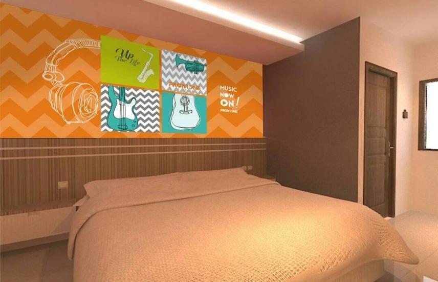 Djo Front One Inn Bengkulu - First Class Room PROMO MINSTAY 2 MALAM