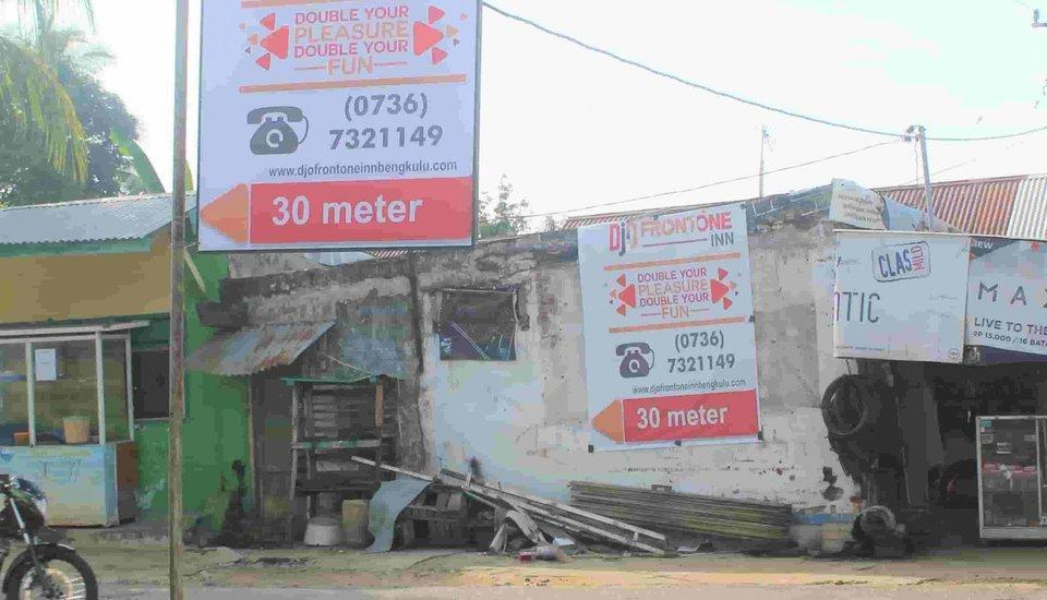 Djo Front One Inn Bengkulu - petunjuk