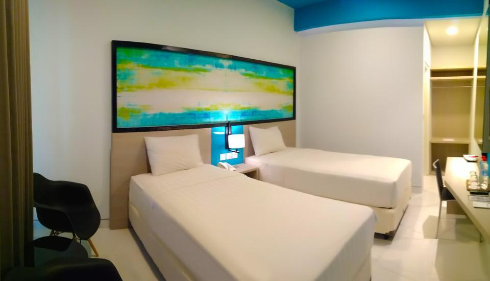Hotel Nirwana Pekalongan - Superior Twin Room Only Regular Plan
