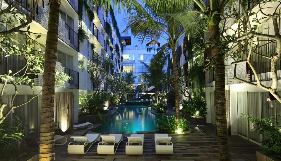 The Akmani Legian - Main Pool & Garden