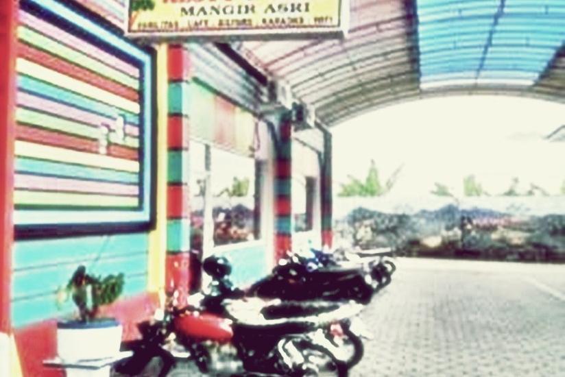 Hotel Mangir Asri  Banyuwangi - Area Parkir