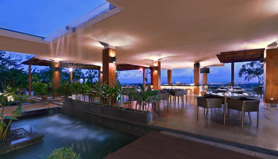 Golden Tulip Bay View Hotel Bali - restaurant