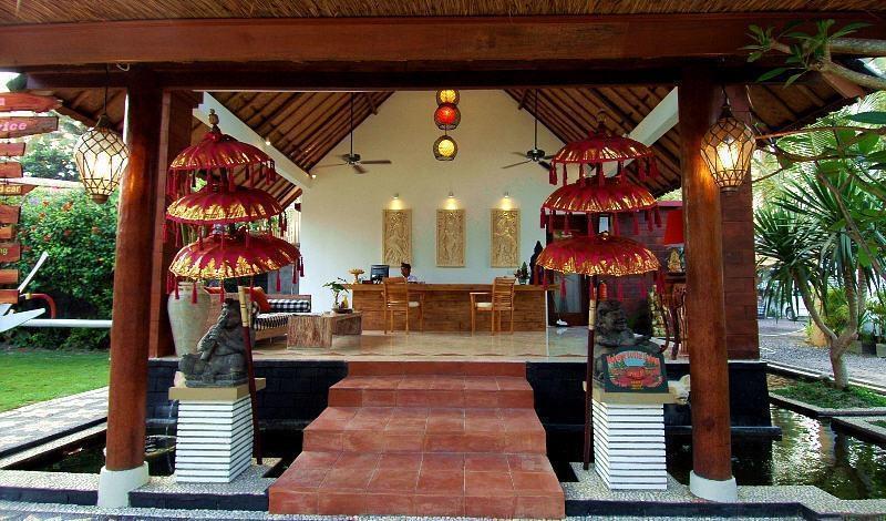 Bali Santi Bungalows Bali - BALI SANTI BUNGALOWS LOBY AREA