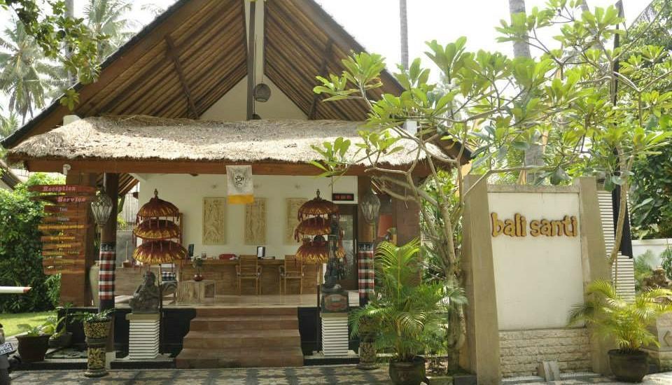 Bali Santi Bungalows Bali - Loby Hotel Bali Santi Bungalows