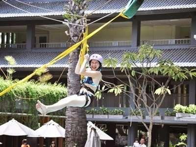 HARRIS Resort Kuta Beach Bali - Flying Fox