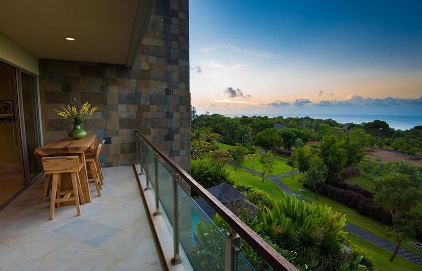 Ayana Residences Bougainvillea 3B Bali - Balkon
