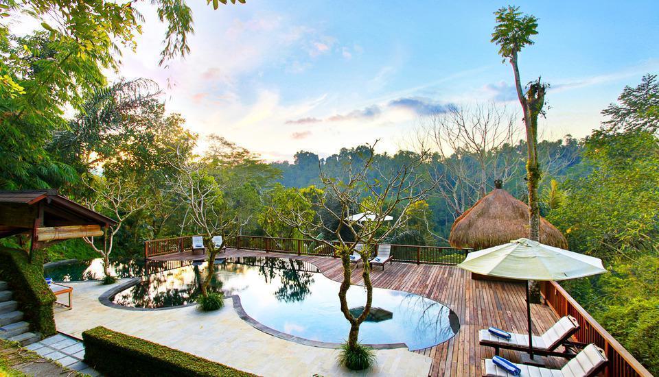 Nandini Jungle Resort Bali - Kolam Renang
