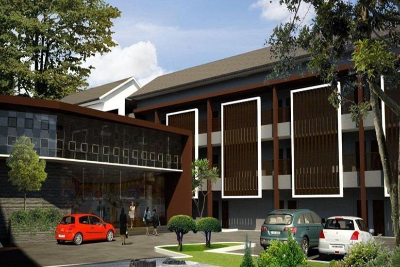 Anugrah Hotel Sukabumi - Area parkir