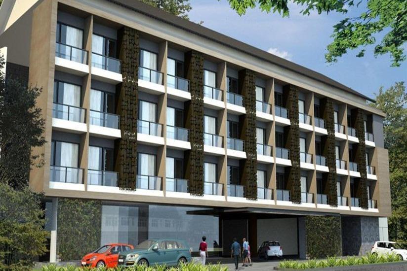 Anugrah Hotel Sukabumi - Tampilan Luar Hotel