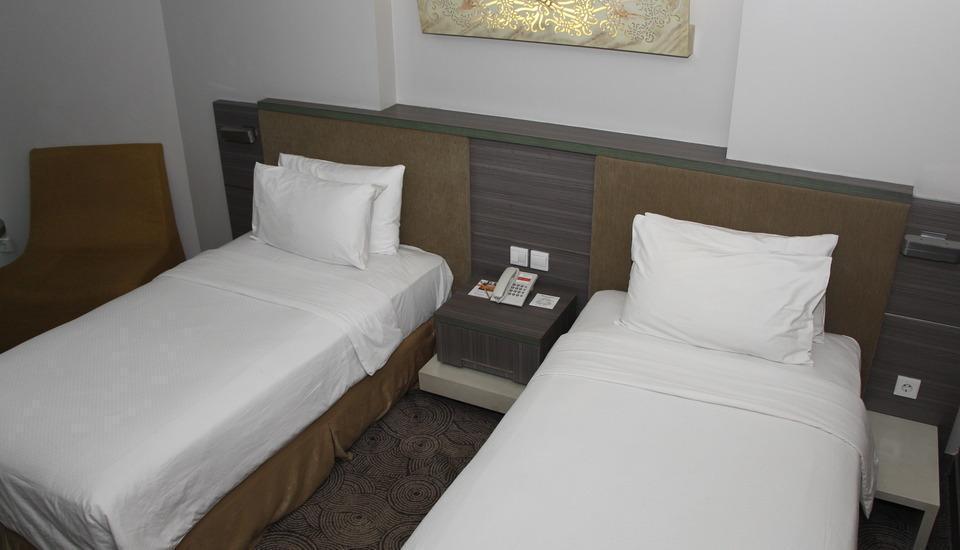Swiss-Belhotel Balikpapan - Tempat tidur