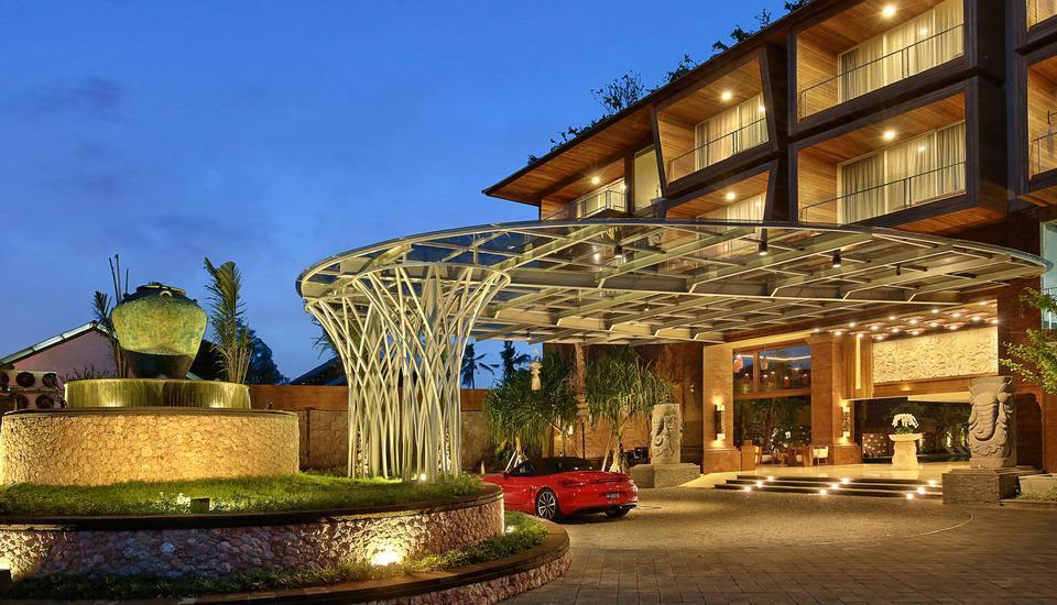 Jimbaran Bay Beach Resort & Spa Manage by Prabu Bali - Tampilan Luar Hotel