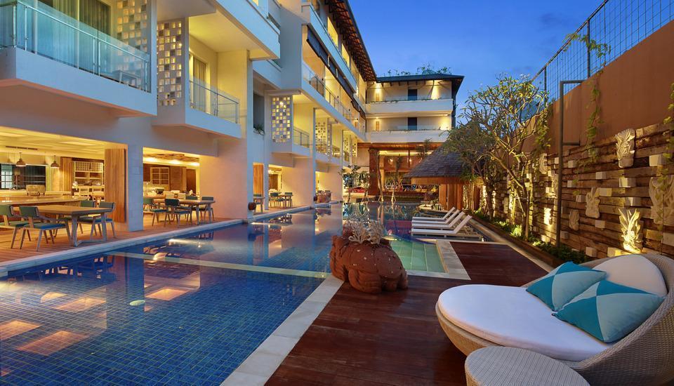 Jimbaran Bay Beach Resort & Spa Manage by Prabu Bali - Kolam Renang