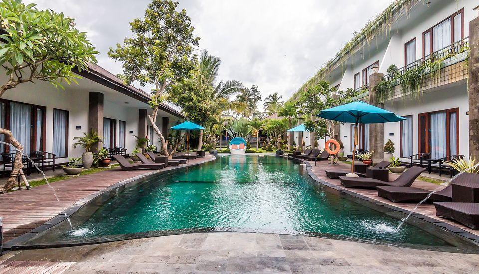 ZenRooms Ubud Sayan Bali - Kolam Renang