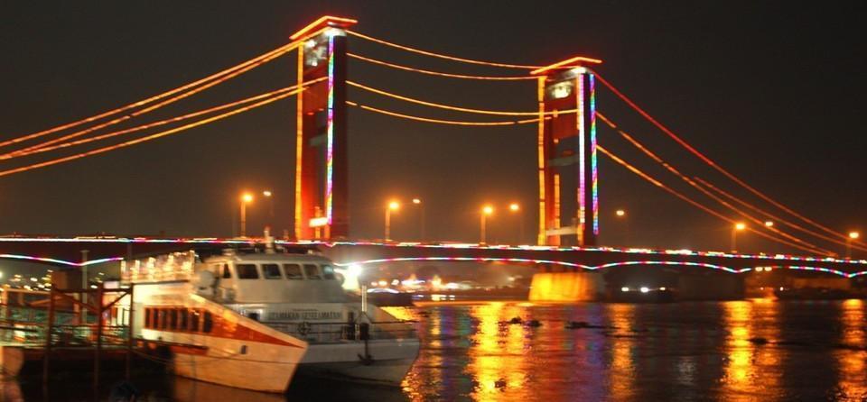 Horison Ultima Palembang - Pemandangan Jembatan Ampera